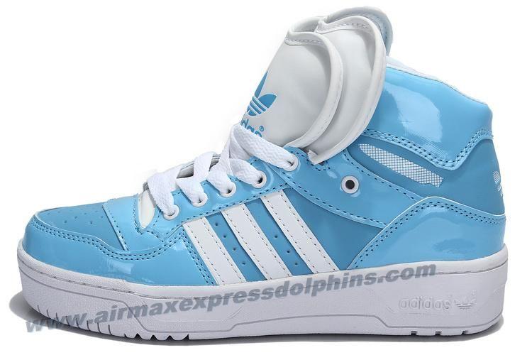 half off afa07 993c0 Adidas Attitude Logo Double Heart Tongue Shoes Blue 2013