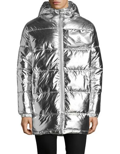 CHEAP MONDAY Metallic Puffer Jacket | Fall 2017 | Pinterest ...