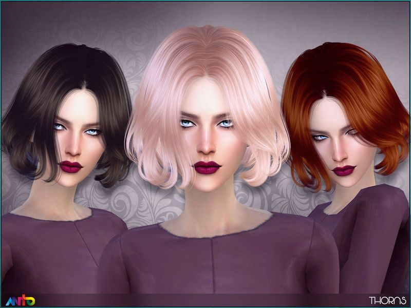 Short Wavy Bob For Ladies Found In Tsr Category Sims 4 Female Hairstyles Sims Hair Womens Hairstyles Hair Styles