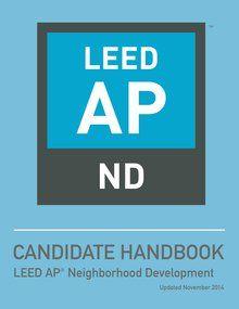 Leed V4 Ap Nd Candidate Handbook