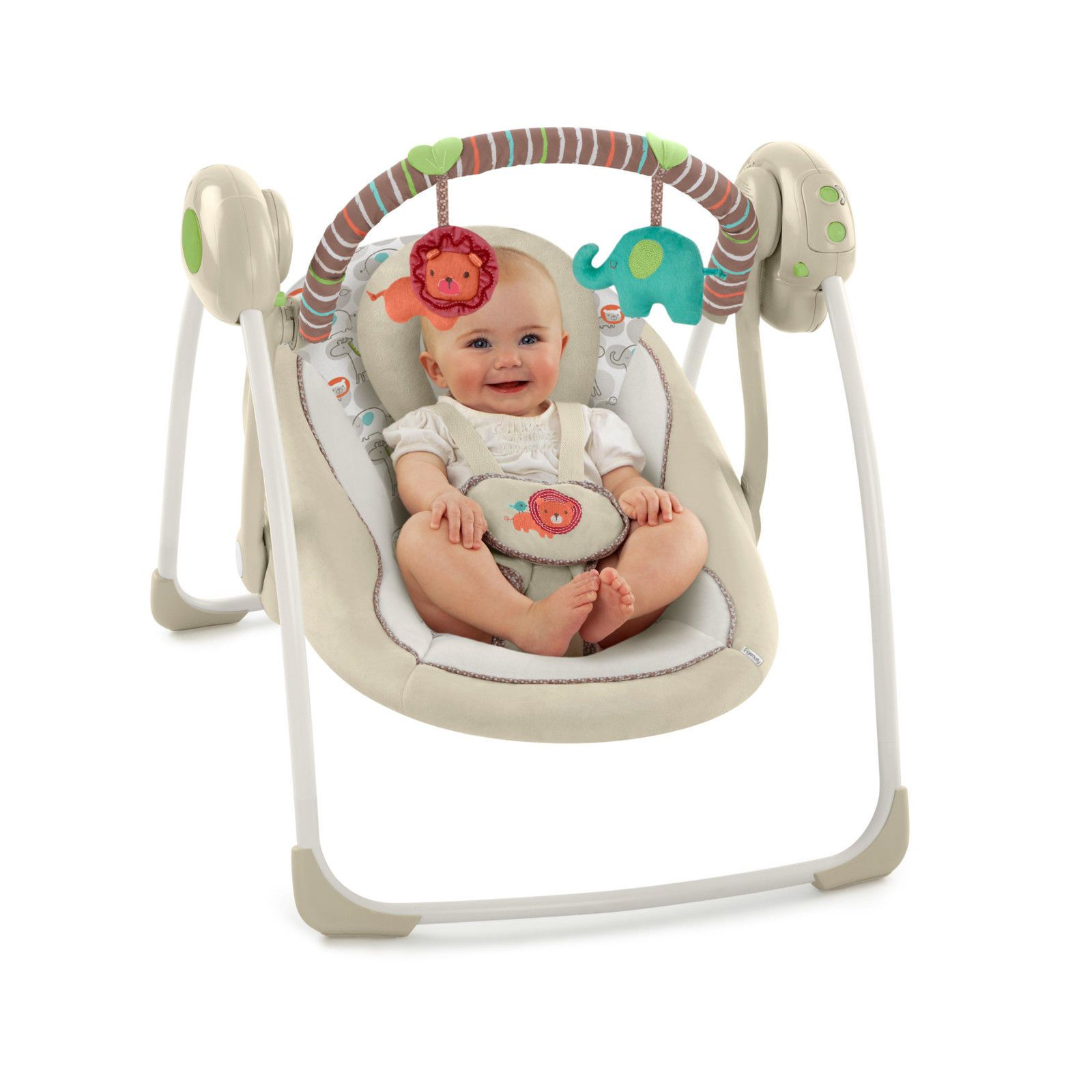 Baby Bouncer Swing Chair Cradle Rocker Seat Rocking Cradling Baby Chair Cozy