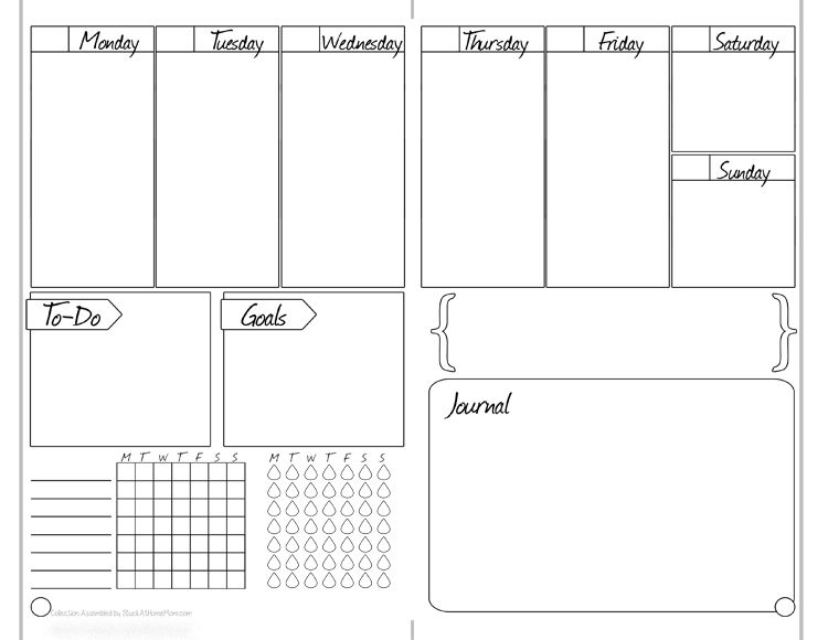 Bullet Journal - Free Printable Starter Kit #BulletJournal