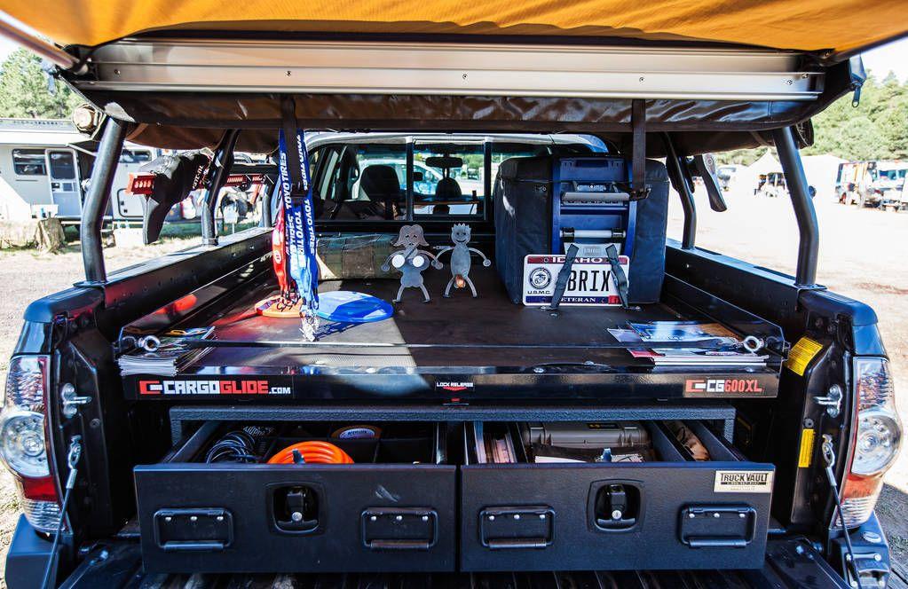 Defconbrix Truckvault Cargoglide Bed Storage