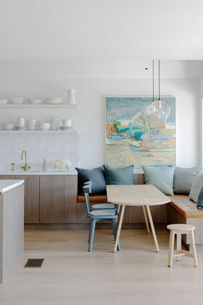 Offene Kuche 44 Ideen Wie Sie Die Kuche Trendig Und Super Funktional Einrichten Wohnzimmer Mit Offener Kuche Wohn Esszimmer Und Offene Kuche