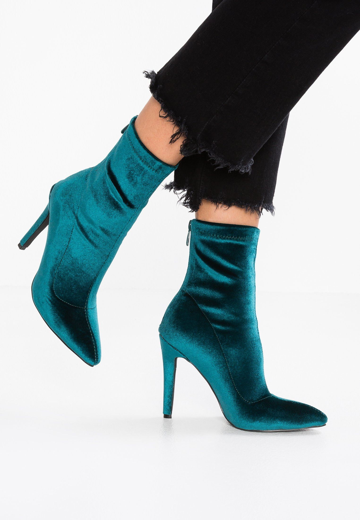 d75825b8ff3516 BEBO TILDA - High Heel Stiefelette - green - Zalando.de