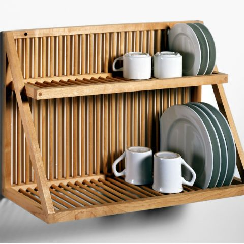 Marvelous Traditional Wooden Kitchen Plate Rack CPRS# F  This Where We Can Buy It
