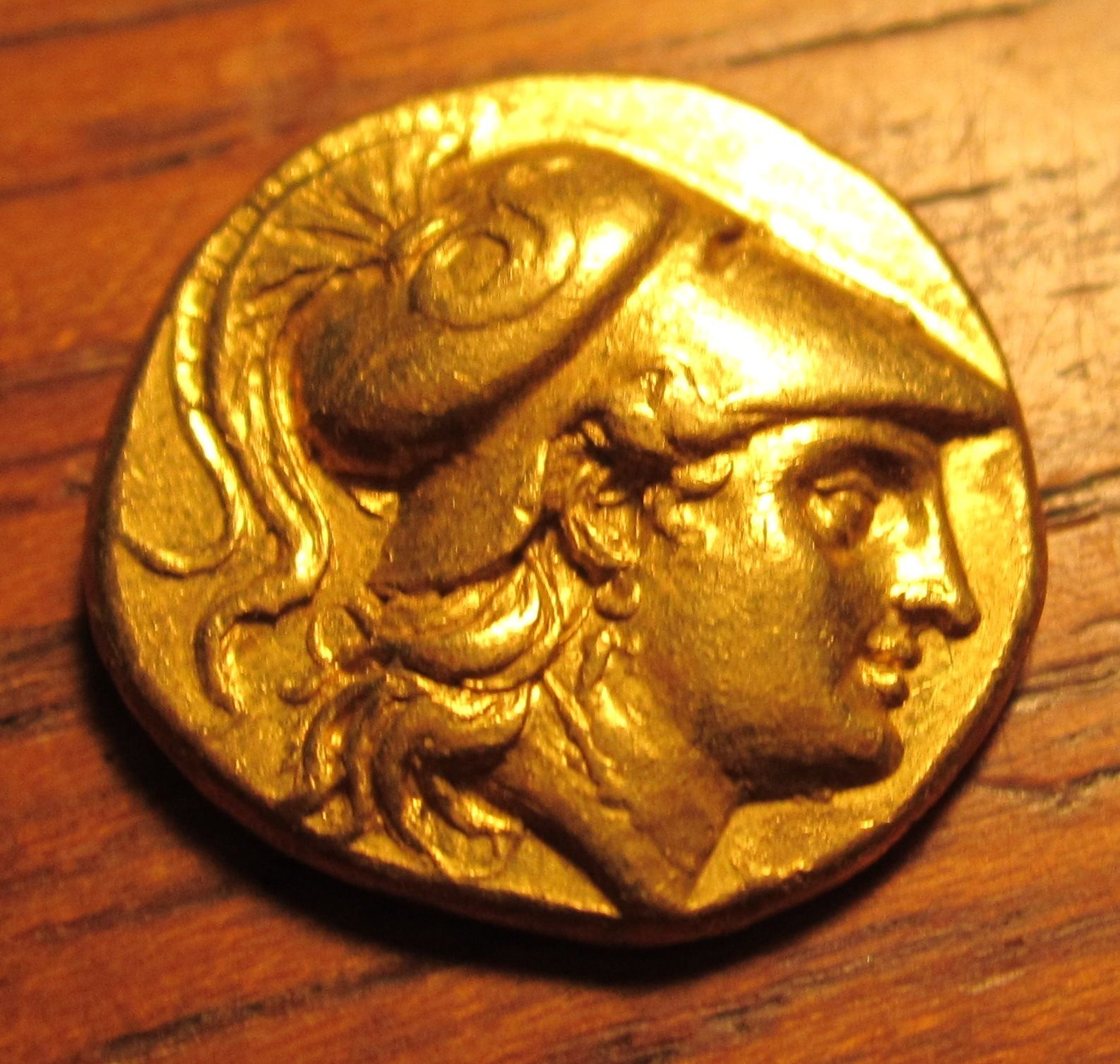 Ancient Greece Alexander The Great Gold Greek Coin Ebay