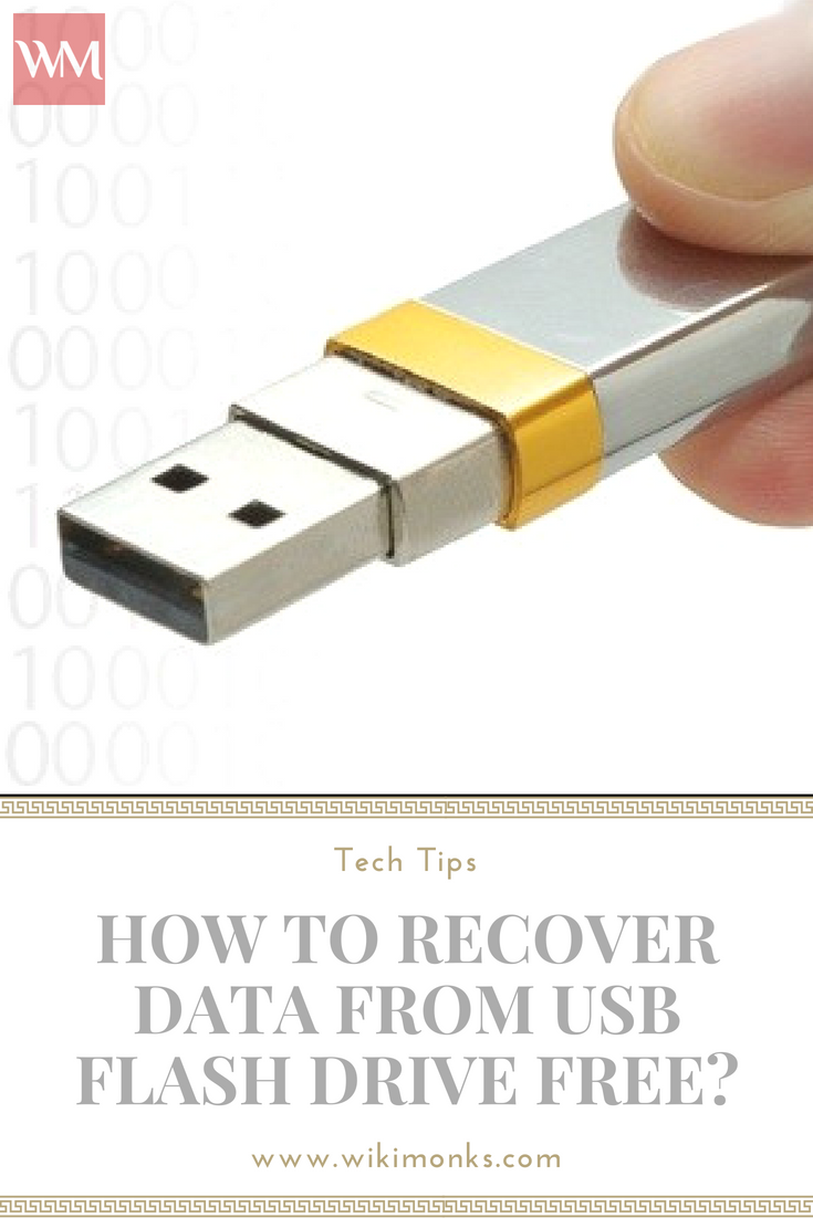 How To Recover Data From Usb Flash Drive Free Usb Flash Drive Flash Drive Usb