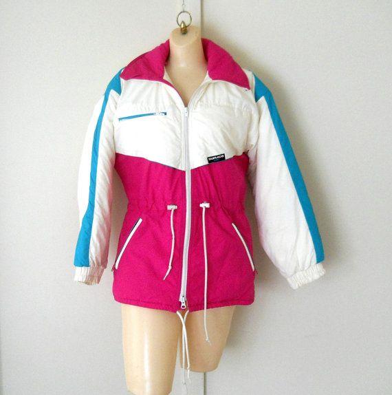 80s Ski Coat 80s Ski Jacket Retro Ski Jacket By Thevillevintage 85 00 Winter Jackets Women Winter Coats Women Jackets For Women