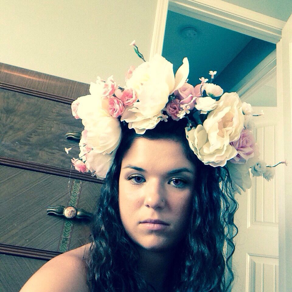 Flower crowns for sale.