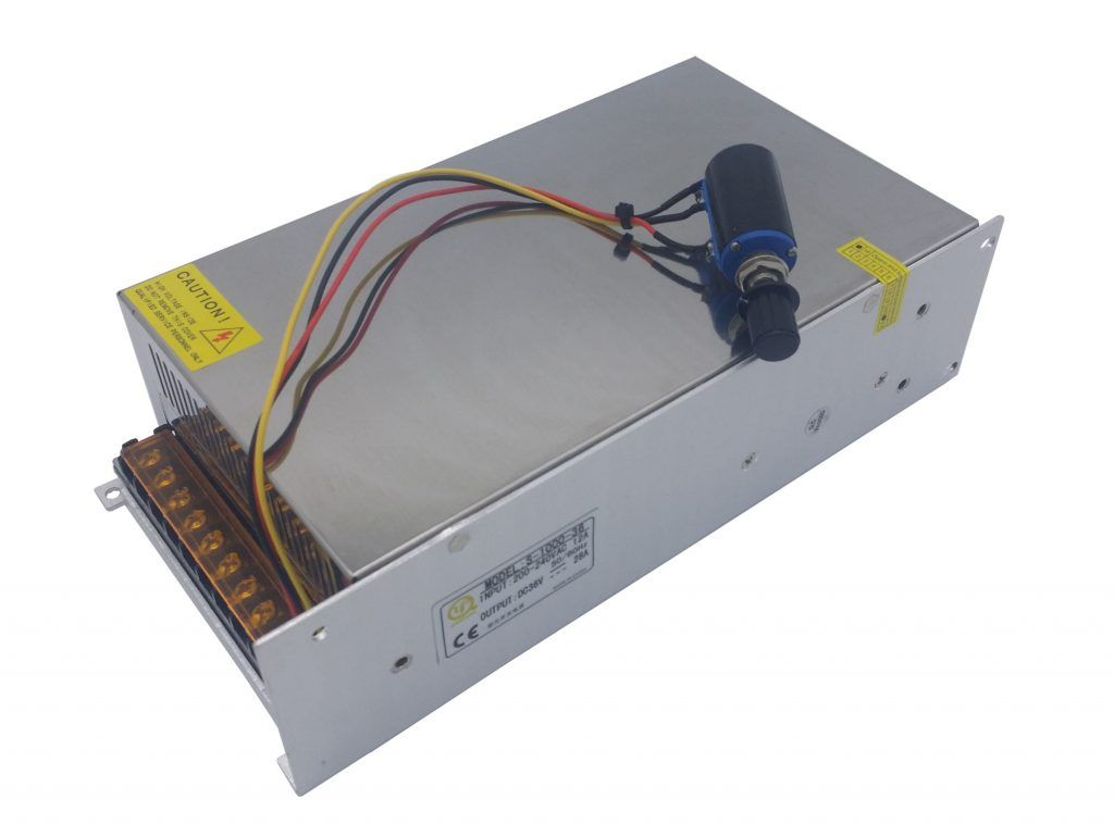c5aa0e5ec54 1000W Adjustable DC Power Supply SMPS - Custom Electronics