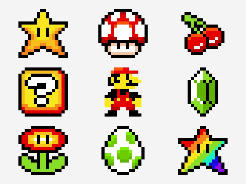 Super Mario Pixel Explorations Super Mario Art Mario Art Pixel Art Games