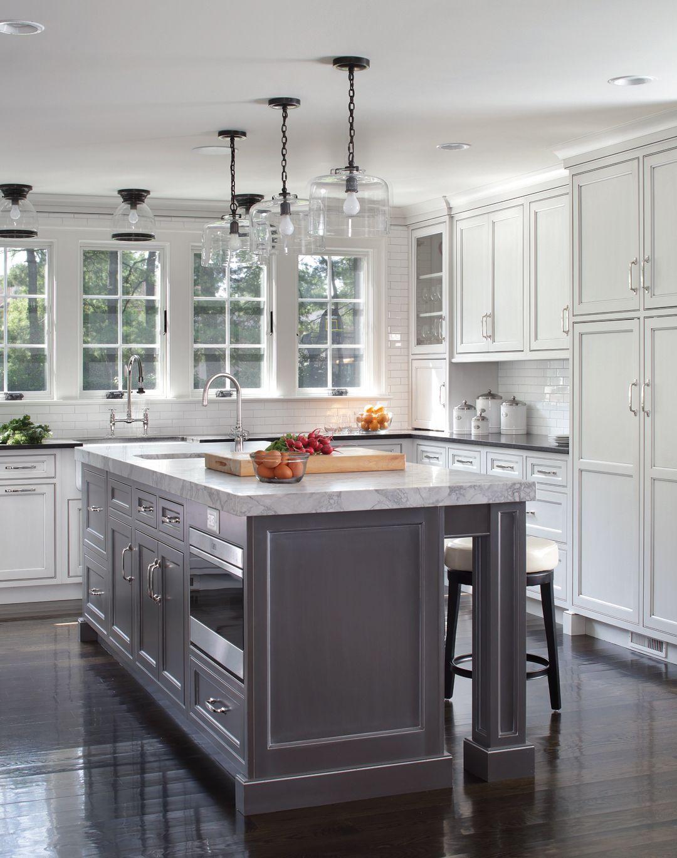 Decorative End Panels And Custom Turned Legs Set This Island Apart Kitchen Inspiration Design Kitchen Colors Kitchen Cabinet Design