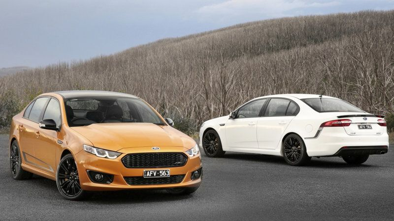 Australia Revives Sprint Badge For Final Falcon Ford Falcon Ford News Ford