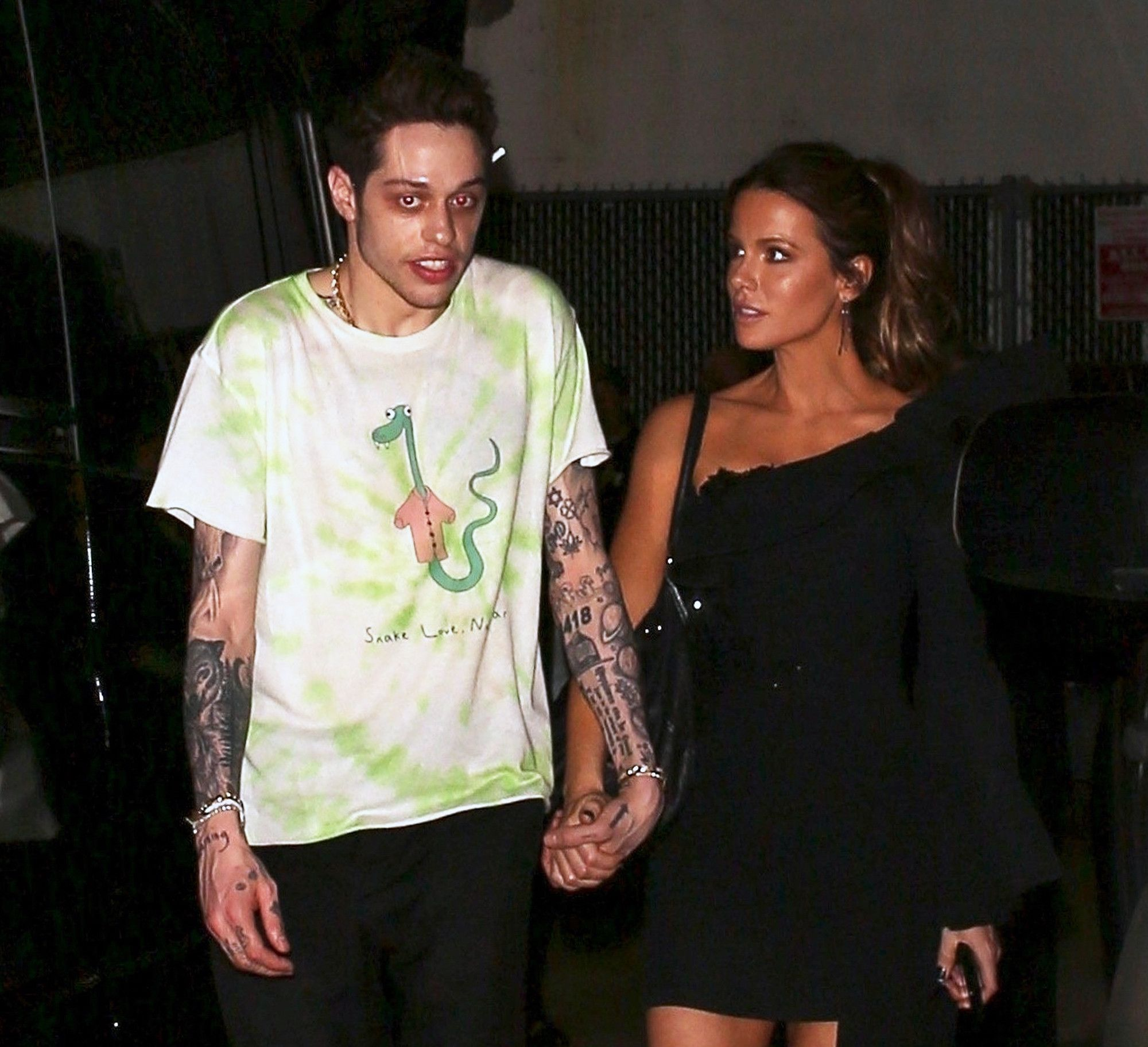 It's Getting Hot in Here! Pete Davidson and Girlfriend