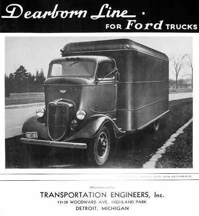 Dearborn Line Transportation Engineers E Howard Perkins Oliver