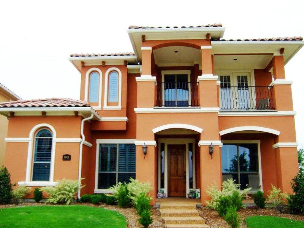 Exterior House Color Design Home Colour Outside Orange Collection Also Adora Exterior Paint Colors For House House Paint Color Combination House Paint Exterior