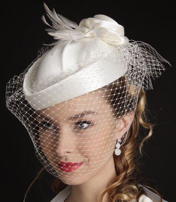 Chapeau, Bibi et Capeline de Mariée et accessoires mariage