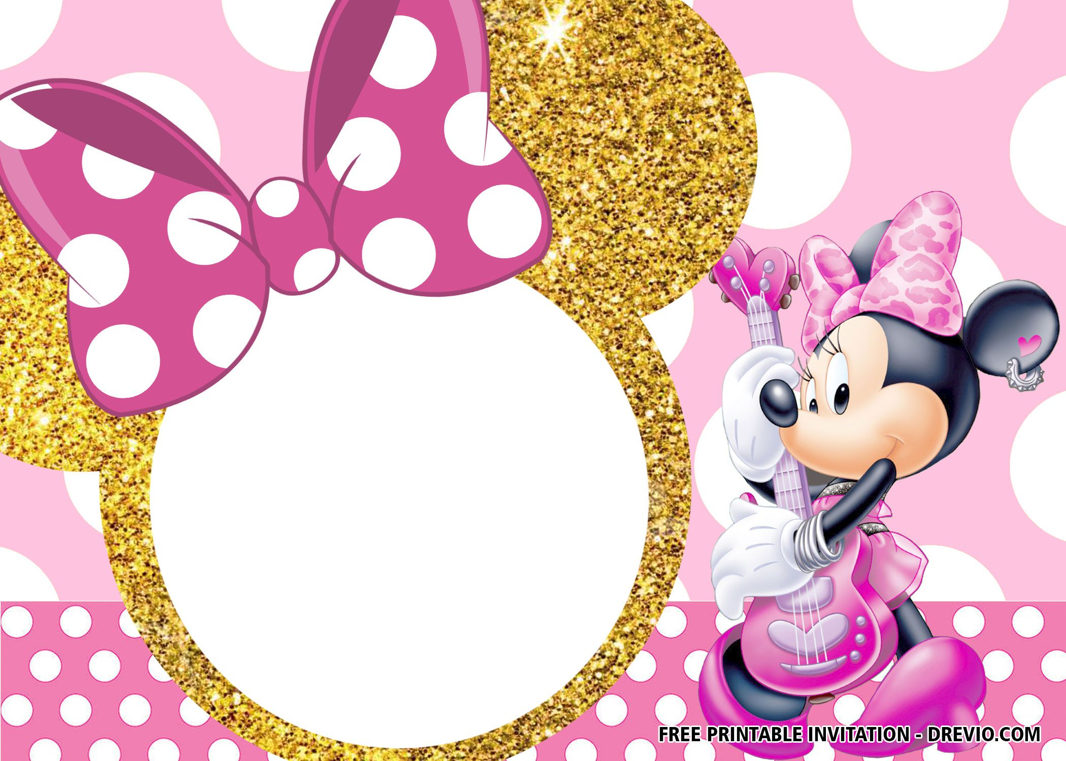 Blank Printable Mickey Mouse 1st Birthday Invitation Mickey Mouse Birthday Invitations Mickey Mouse Invitation Mickey Mouse 1st Birthday