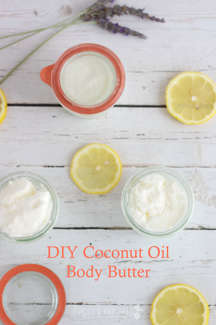 how to make body butter with coconut oil