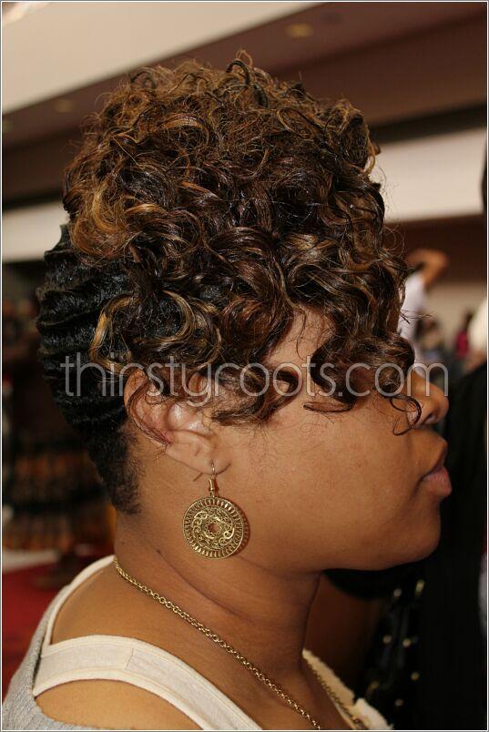 black hair finger waves hairstyles | Dry waves | Pinterest | Hair ...
