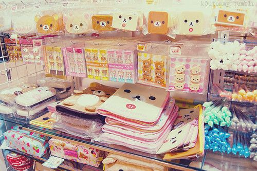 Kawaii Stationery Rilakkuma Items ^^