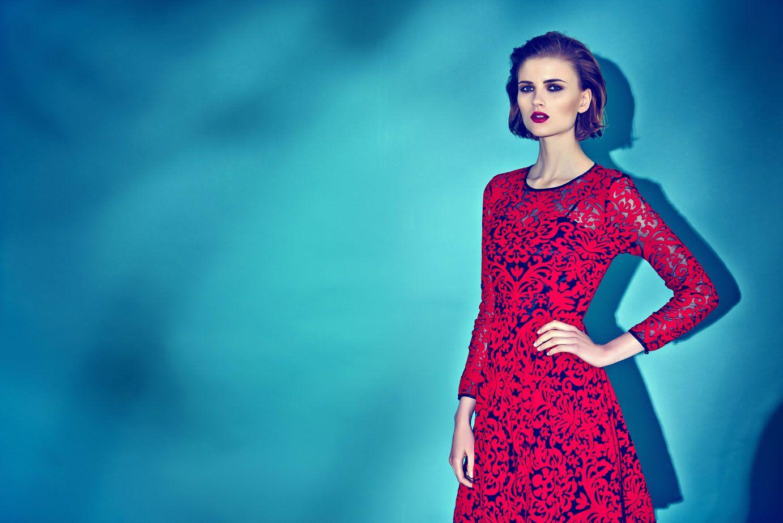 Almost Famous Flock Skater Dress @ Anastasia Boutique http://www ...