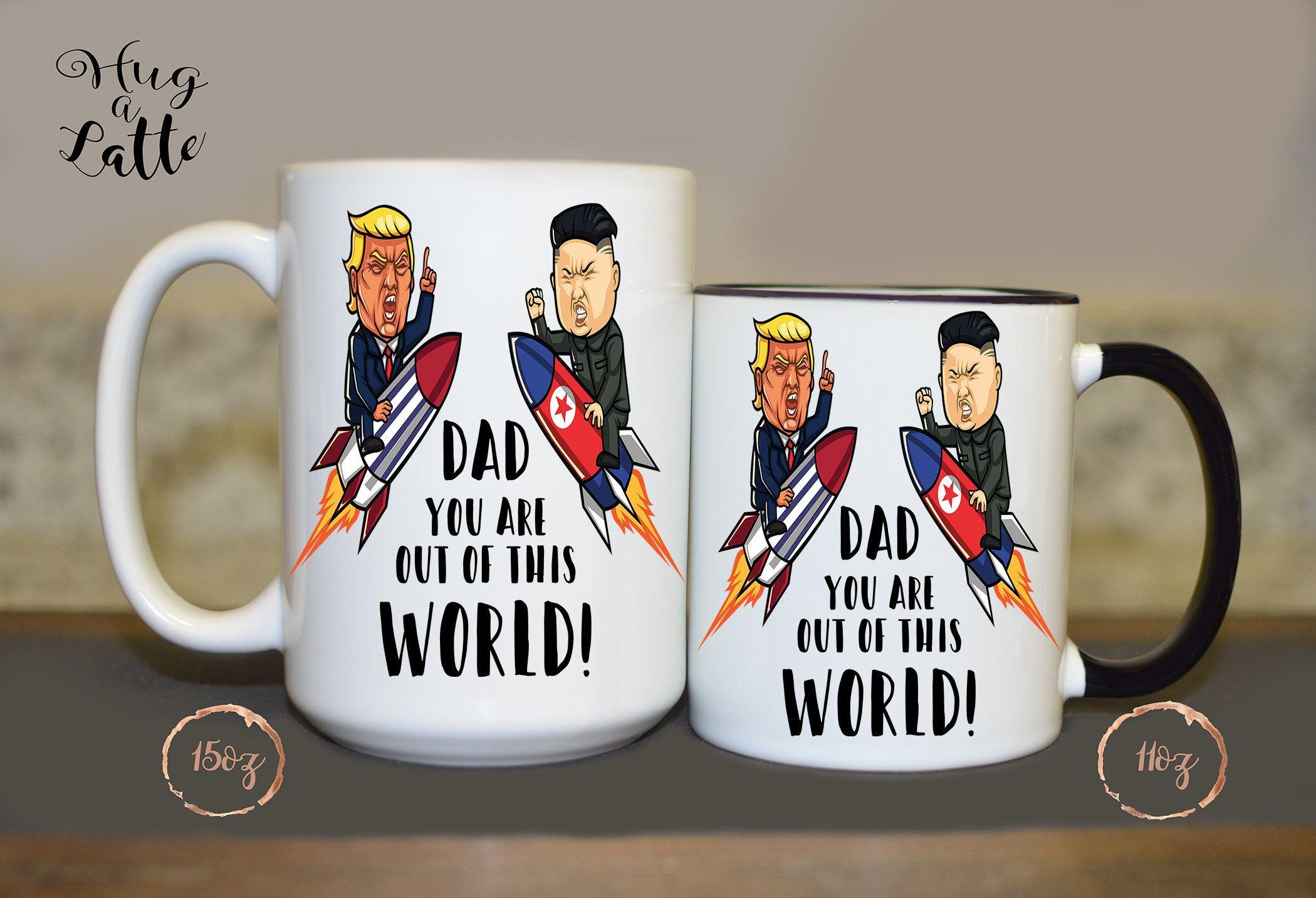 641bbc56f26 Trump Mug, Donald Trump Father's Day Gift, Funny Trump Mug, Trump Birthday  Gift, Mug for Dad, Papa, Funny Mug, Anti Trump, Best Father's Day by ...