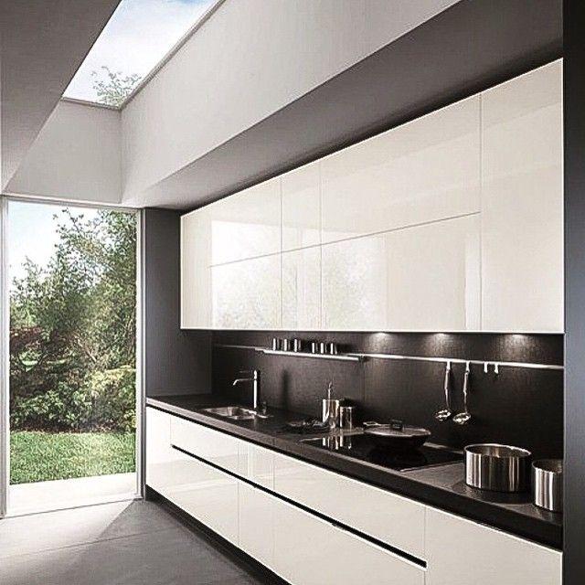 Cocina con isla cocina Pinterest Kitchens, Loft kitchen and - nobilia küchen qualität