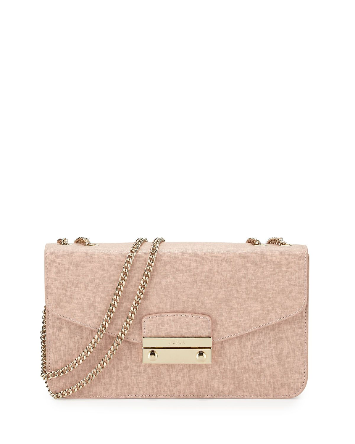 74580db3afe1 Julia Small Leather Pochette Bag Moonstone