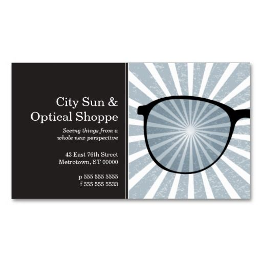Pinpoint Grungy Rays Glasses Business Card Templates Business Card Minimalist Business Cards Corporate Identity Doctor Business Cards