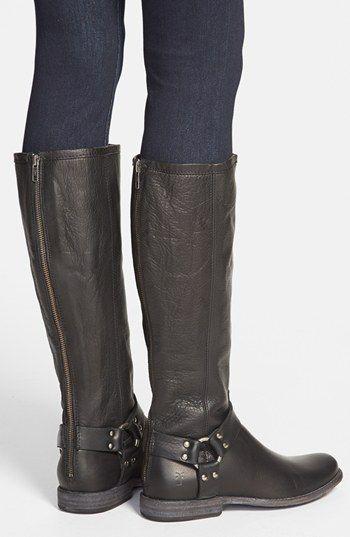 9f374344d055d6 Frye  Phillip Harness  Tall Boot