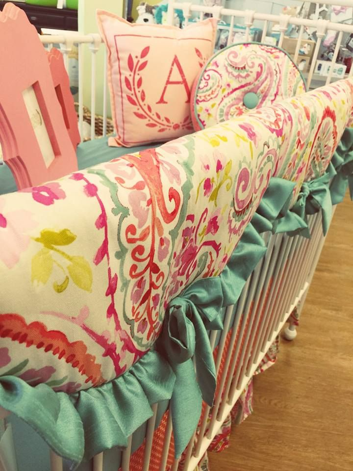 Visit GreenPea Baby & Child in Cary, NC or at www.greenpeababystore.com for all of your nursery and kid bedding needs.