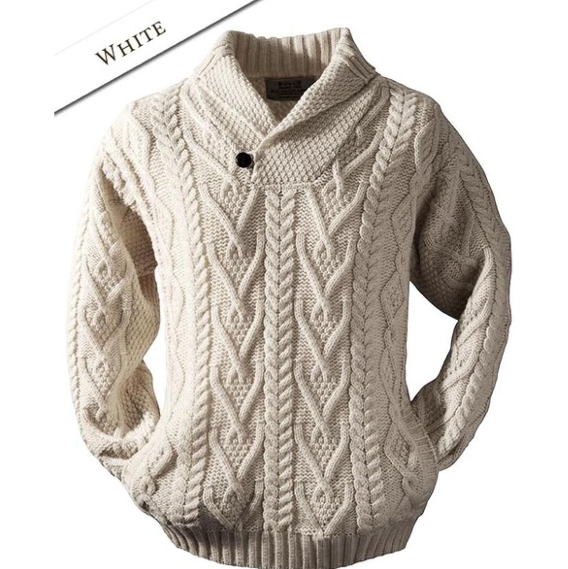 Fisherman sweater | tejido | Pinterest | Tejido, Sueter hombre y Dos ...