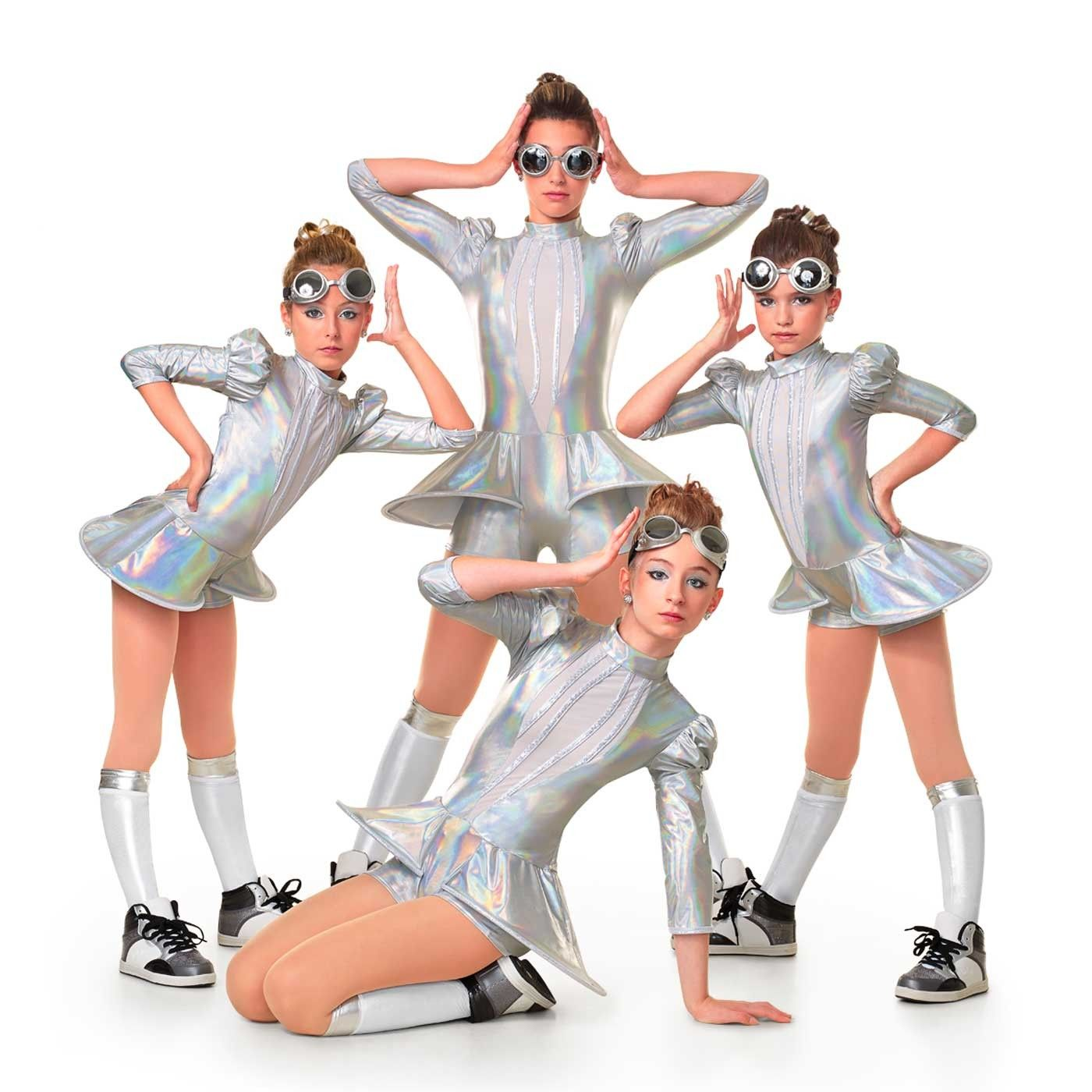 Metallic Machine Jazz costumes, Futuristic costume, Hip