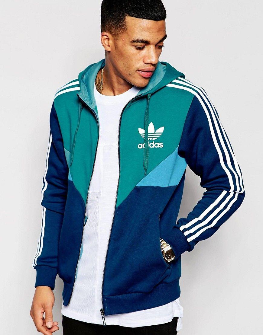 adidas+Originals+Zip-Up+Hoodie+AJ6983  46e133b43069