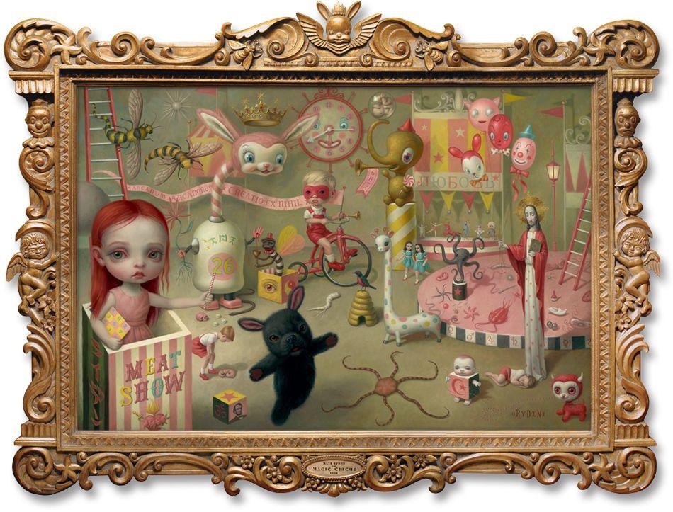 Mark Ryden - The Magic Circus Oil on Canvas, 2001