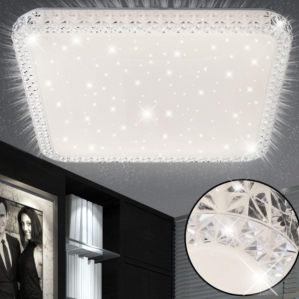 Luxus LED Kristall Decken Lampe Schlaf Zimmer Sternen Himmel
