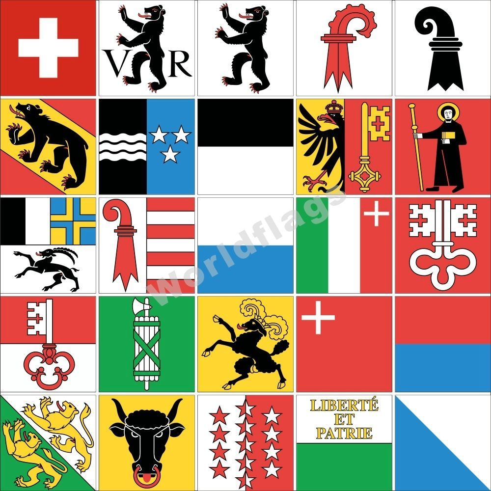 Switzerland country shield flag sticker vinyl decal