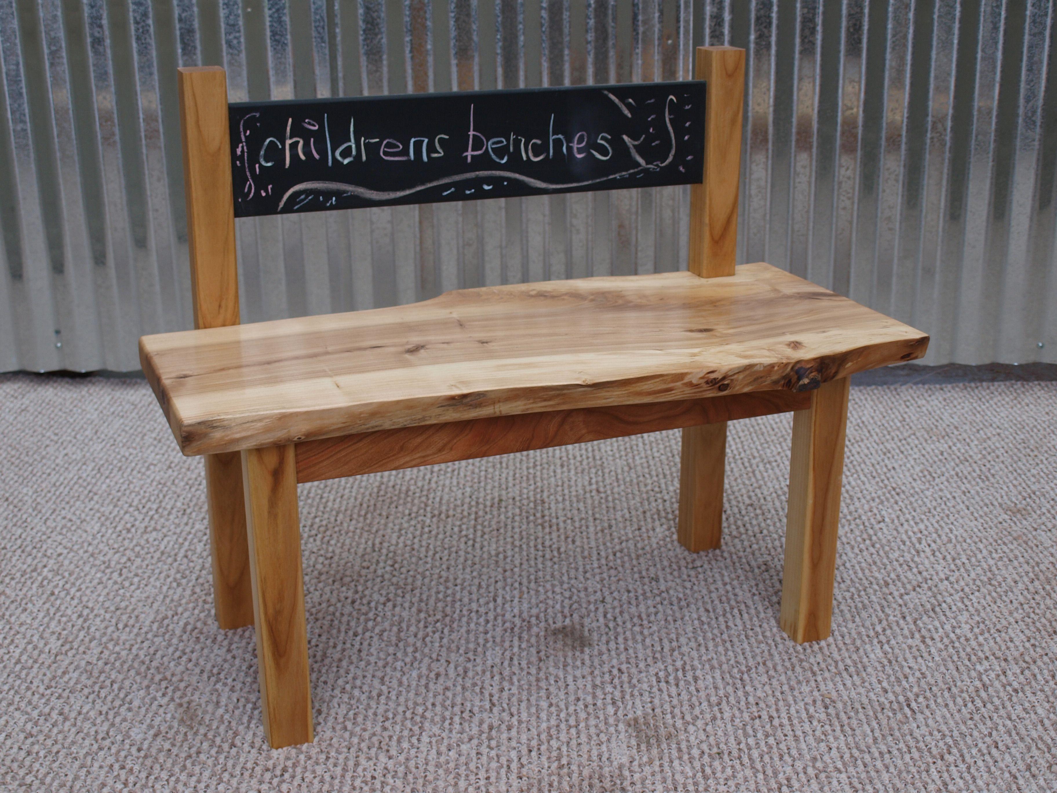 Children S Bench With Blackboard Back Childrens Benches Childrens Furniture Kids Furniture