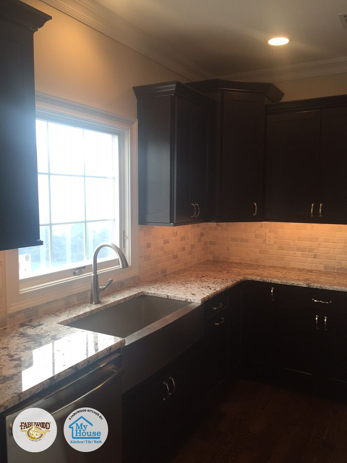 Fabuwood Galaxy Espresso And Frost Built By My House Kitchen Tile And Bath  Located In Union, NJ Designer: Bora