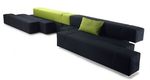 Divano Tetris ~ Il divano modulare art lover per un soggiorno snodato casa