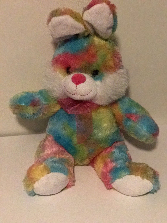 Weighted Stuffed Animal Bunny 5 Lbs Sensory Toy Washable