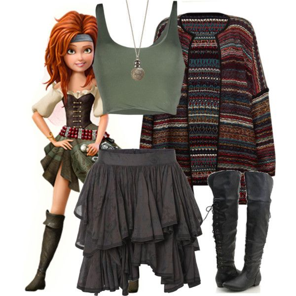 Zarina - Festival - Disney Bound by rainbowbaconcupcake on Polyvore featuring polyvore fashion style Leon & Harper Roque AllSaints