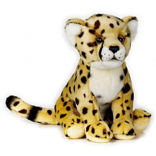 Peluche Guepardo Mediano 25 cm National Geographic 3 años | Animals ...