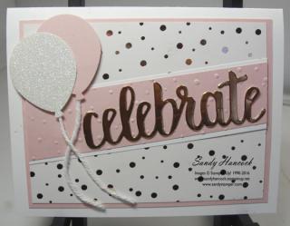 Springtime Foils: Polka Dots- Celebrate! | Sandy S