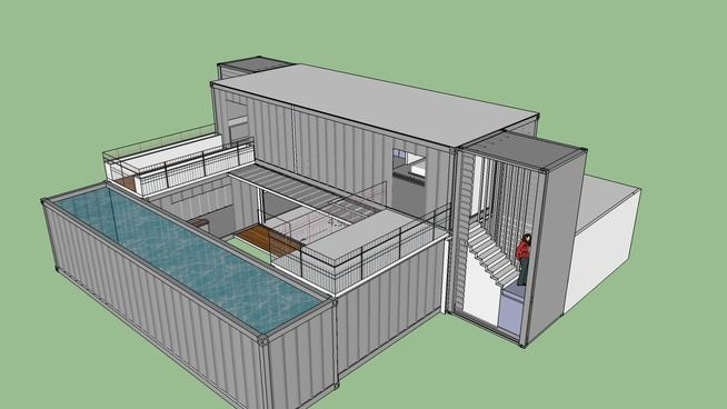 Large Preview Of 3d Model Of Shipping Container Dynamic