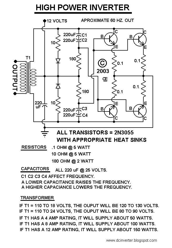 diy power inverter diagrams  free vehicle wiring diagrams •