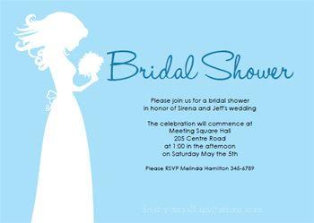 Blushing Bride Shower Invites Printable Bridal Shower Invitations - Wedding invitation templates: facebook wedding invitation template