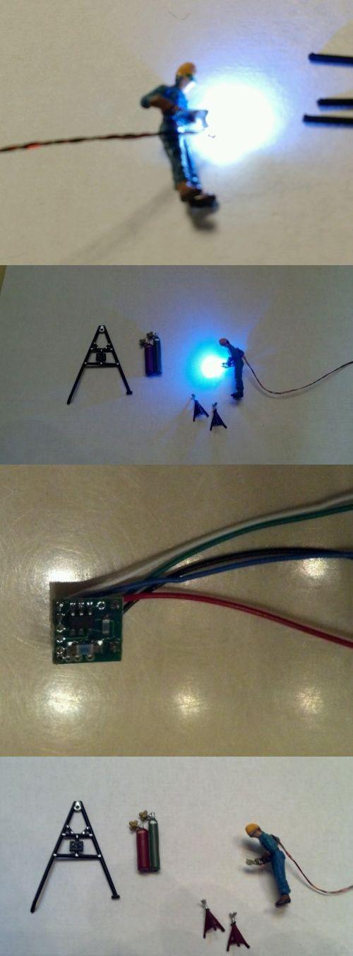 80cb149a48568fcd800b3532788deed4 lamps and lights 31100 welder n scale lit w blue white 0402 led,Ebay N Scale Wiring